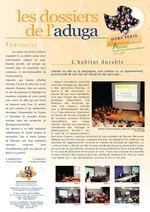 Dossiers de l'Aduga HS n°1 - Décembre 2009