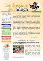 Dossiers de l'Aduga n°3 - Mars 2010