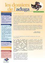 Dossiers de l'Aduga n°5 - Septembre 2012