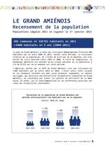 Recensement de la population sur le Pays du Grand Amiénois - Février 2014