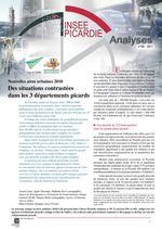 Nouvelles aires urbaines 2010 - Insee Picardie Analyse, N°60 - Octobre 2011