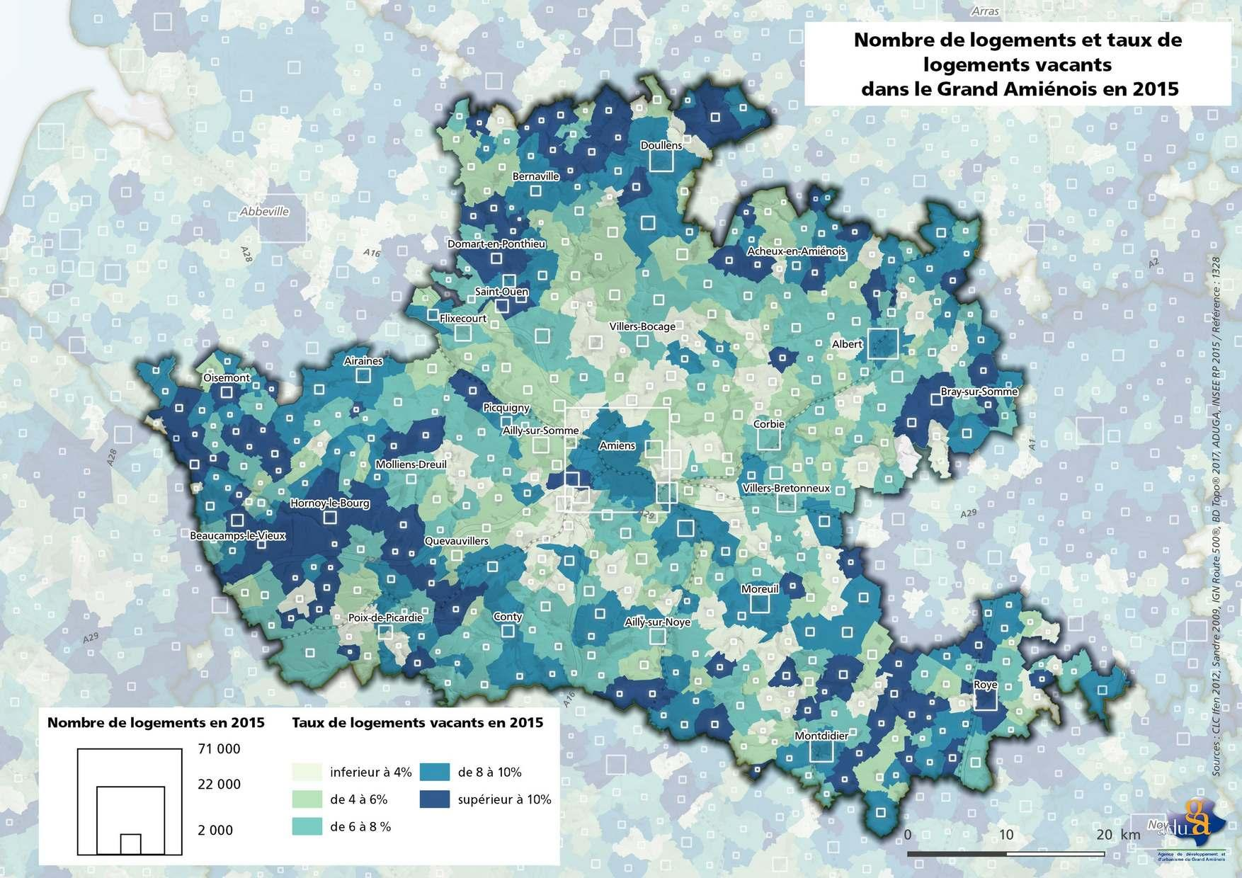 La carte du mois : Les logements vacants, une problématique contrastée