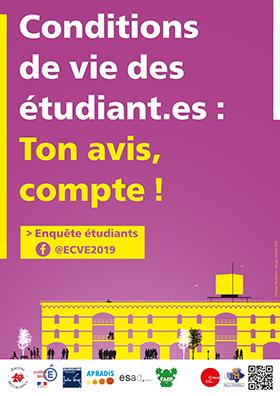 Enquête sur les conditions de vie des étudiants.es