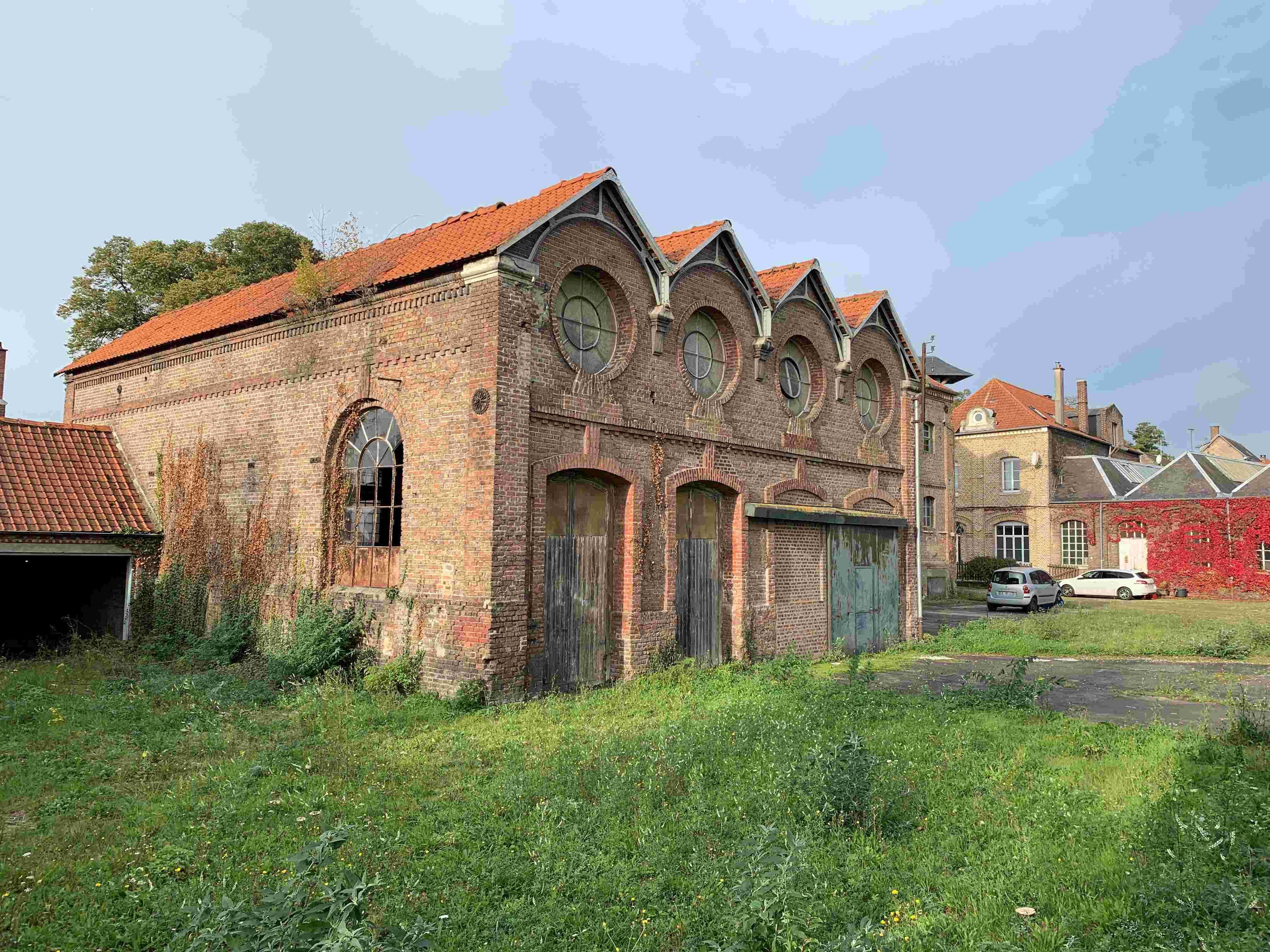 Visite du site Trocmé Vallart Emballage (Ancienne Usine Saint Frères)