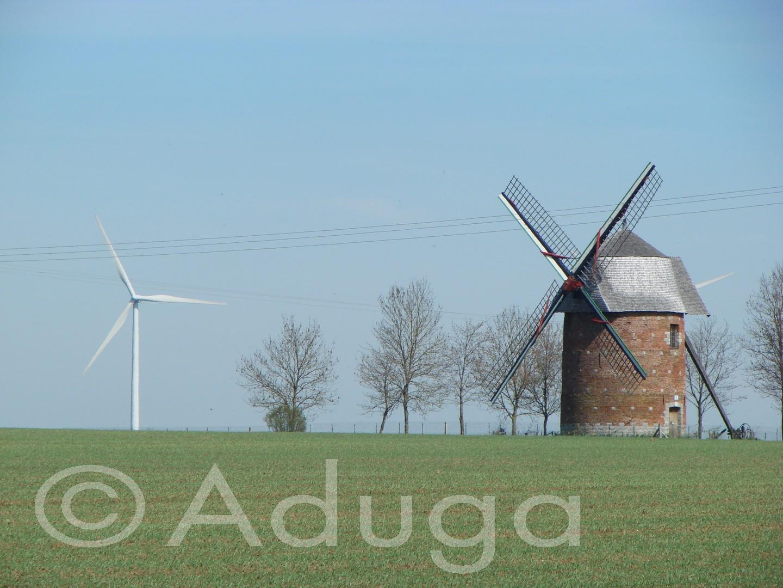 Photo de la semaine. Moulin Fanchon, Candas, CC Territoire Nord Picardie.