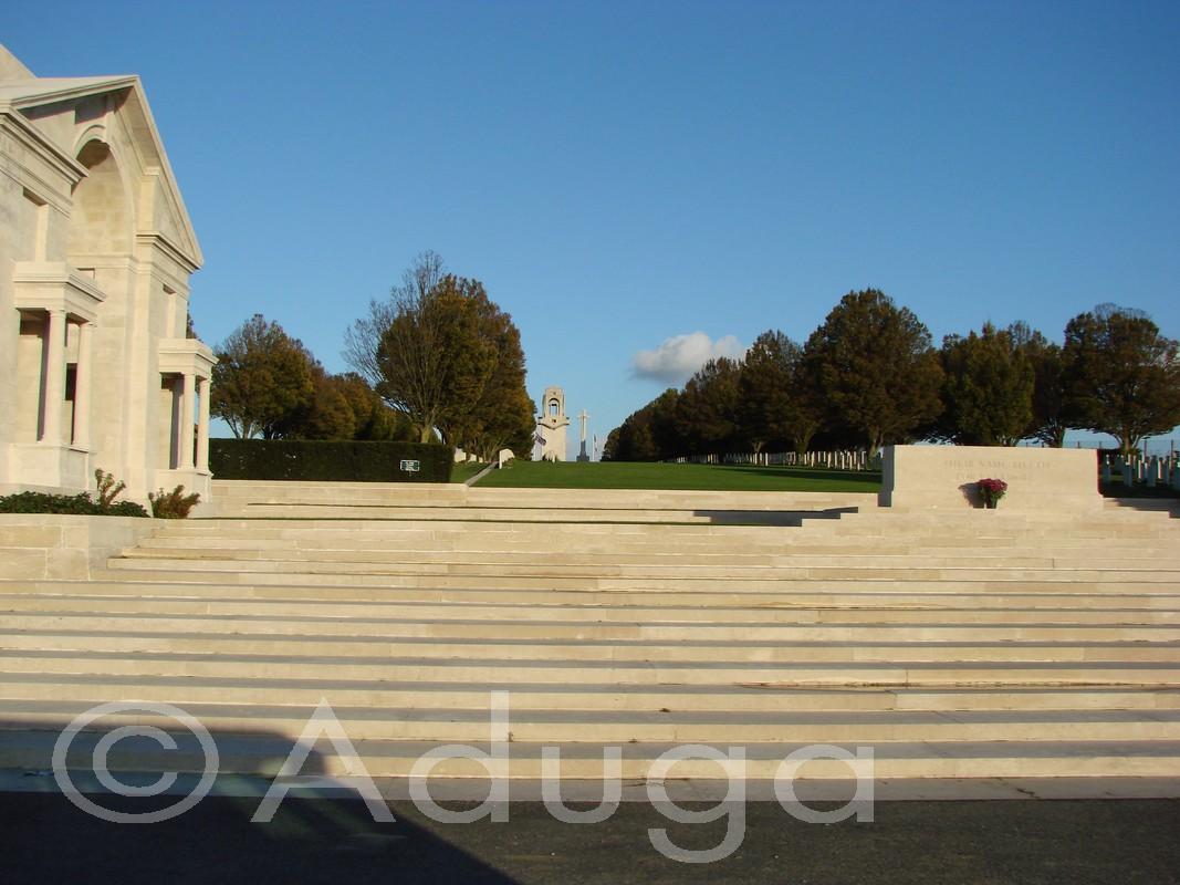 Photo de la semaine. Mémorial national australien, Villers-Bretonneux, CC du Val de Somme.