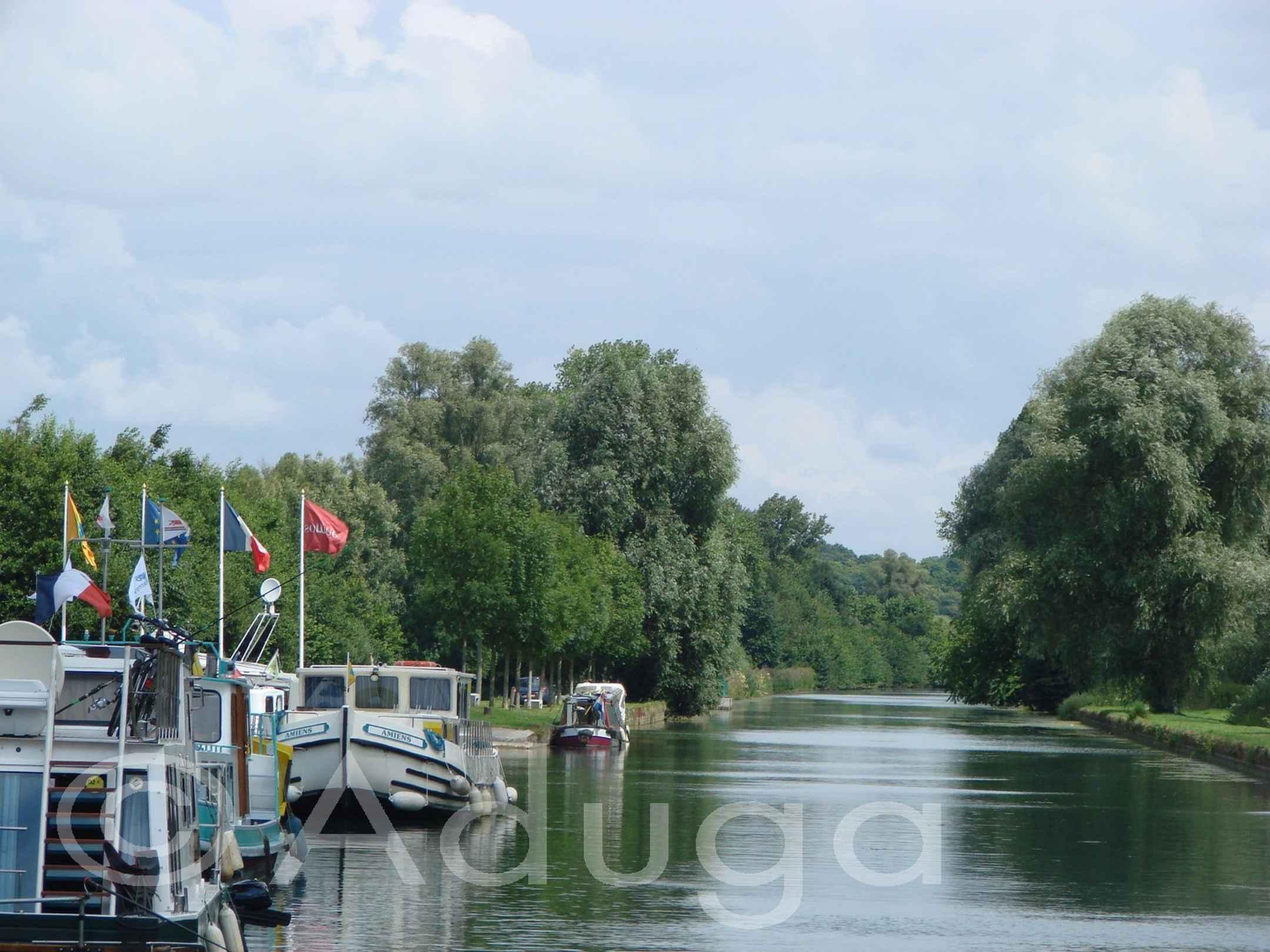Photo de la semaine. Base nautique de Cappy, CC du Pays du Coquelicot. Grand Projet Vallée de Somme