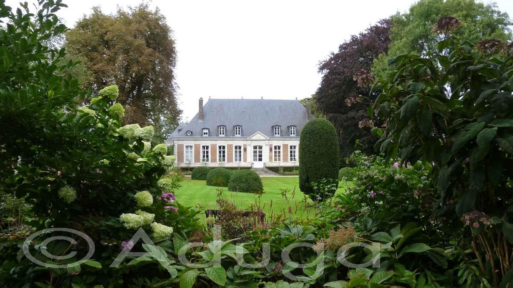 Photo de la semaine. Château et Jardins de Maizicourt, CC Territoire Nord Picardie