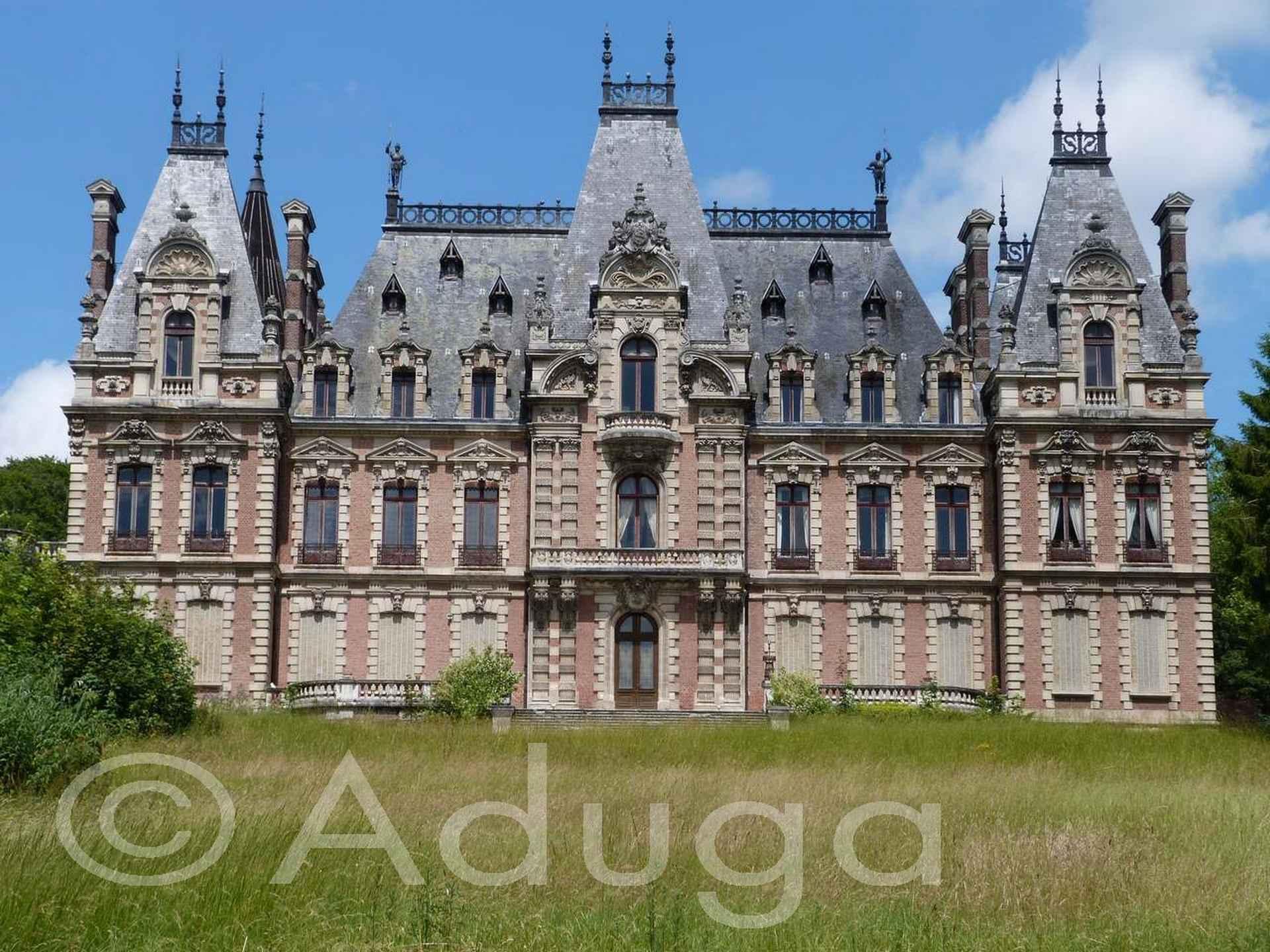 Photo de la semaine. Château Saint Frères de Flixecourt, CC Nièvre et Somme