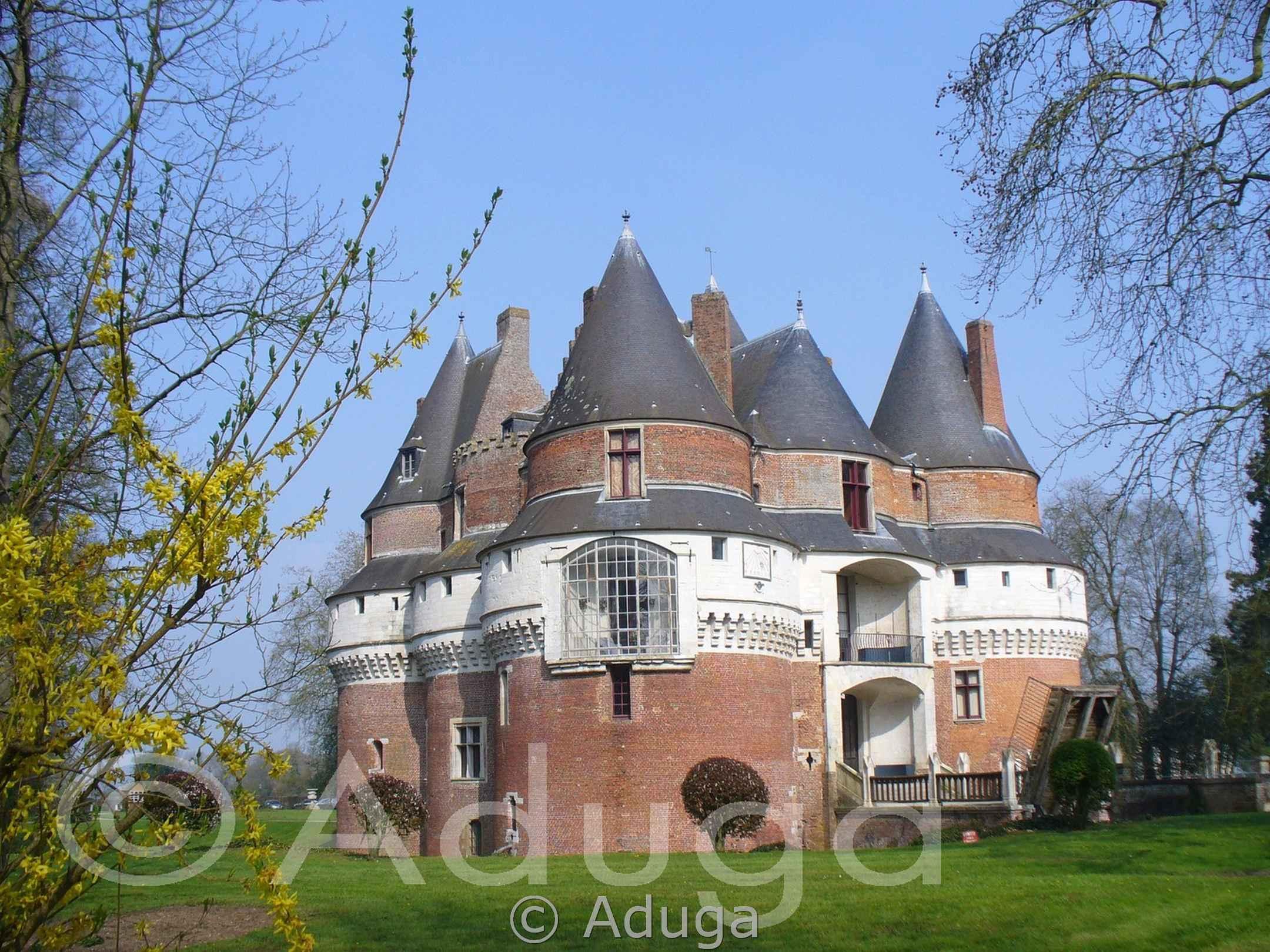 Photo de la semaine. Château Fort de Rambures, CC Somme Sud-Ouest.