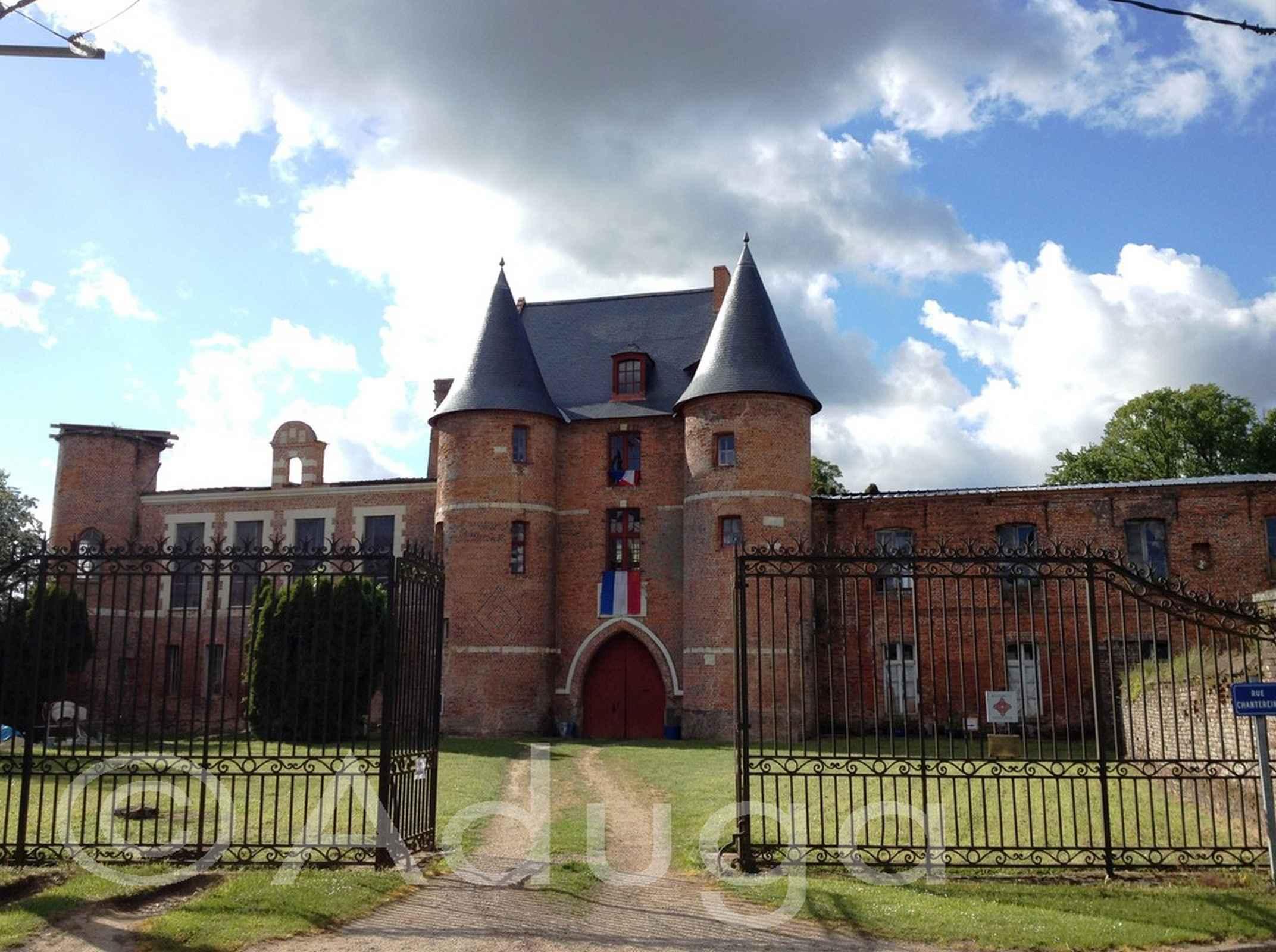 Photo de la semaine. Château de Beaucamps-le-Jeune, CC Somme Sud-Ouest