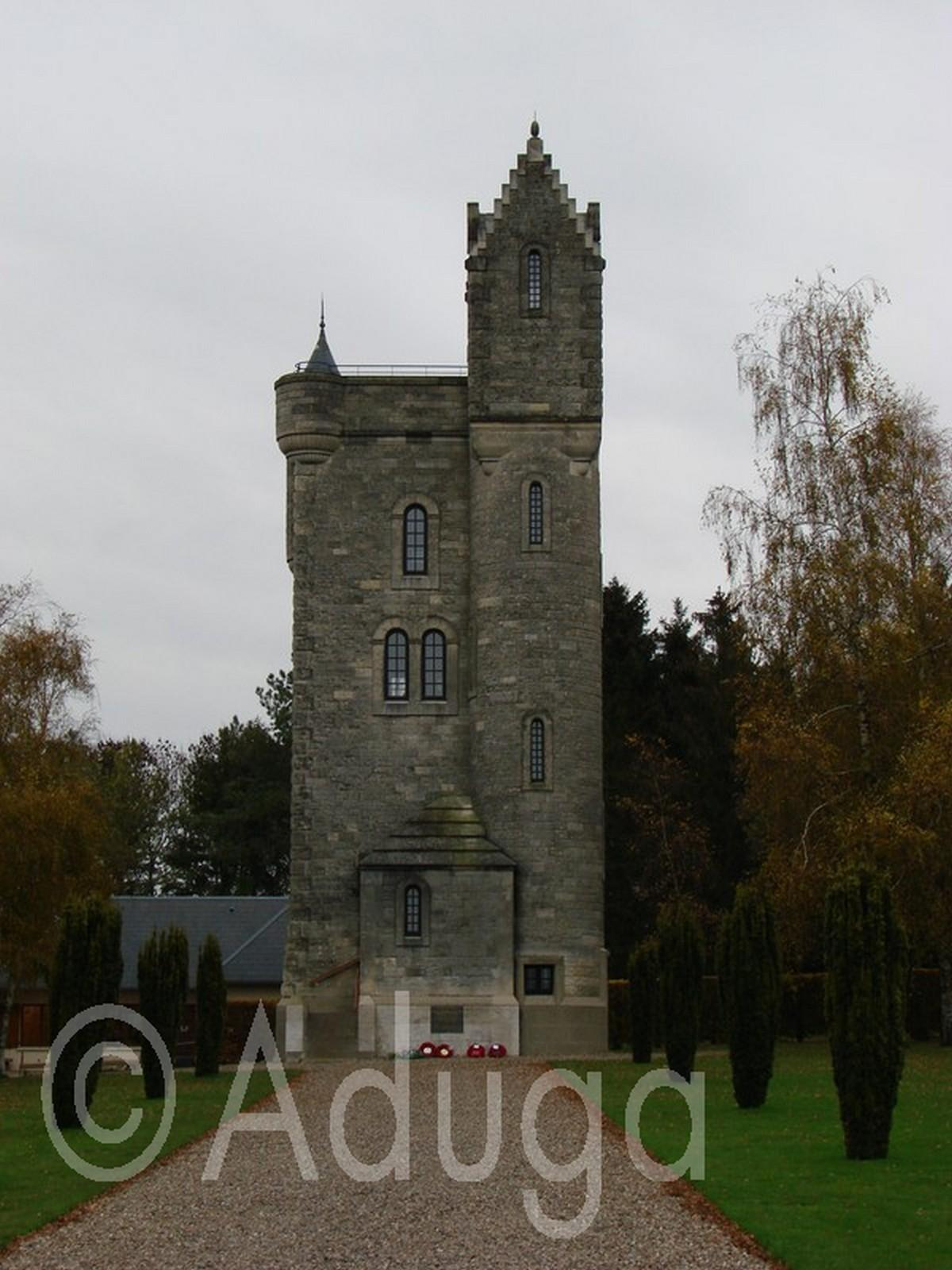 Photo de la semaine. Tour d'Ulster, mémorial britannique, Thiepval, CC du Pays du Coquelicot
