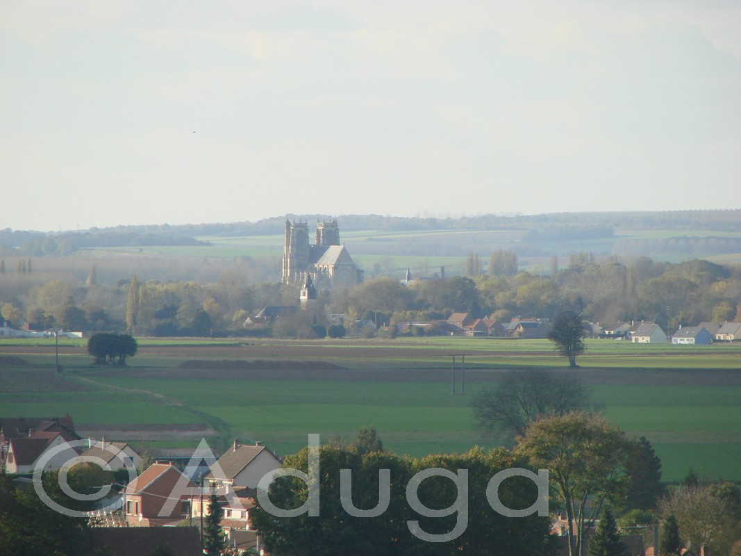 Photo de la semaine. Abbatiale Saint-Pierre de Corbie, CC du Val de Somme