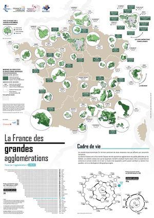 Observ'agglo. La France des grandes agglomérations. Focus sur l'agglomération d'Amiens