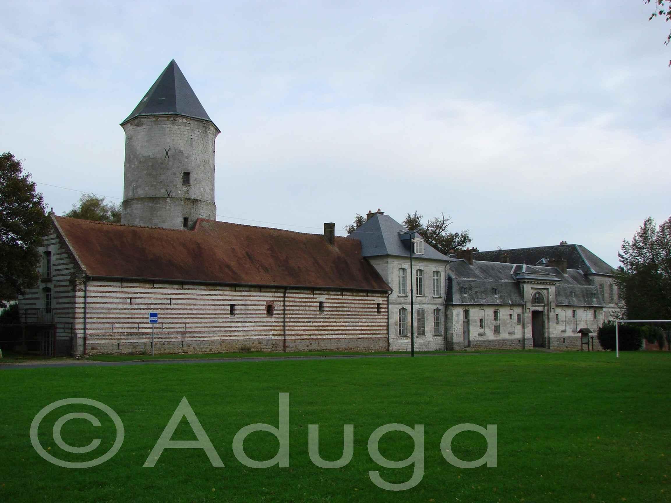 Photo de la semaine. Château de Flesselles, CC du Territoire Nord-Picardie.