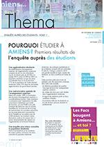 Thema n° 2 - Septembre 2016 - Pourquoi étudier à Amiens? Premiers résultats de l'enquête auprès des étudiants