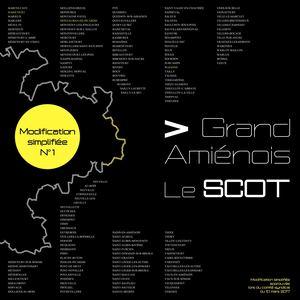 SCOT du Pays du Grand Amiénois : Modification simplifiée - Juillet 2017