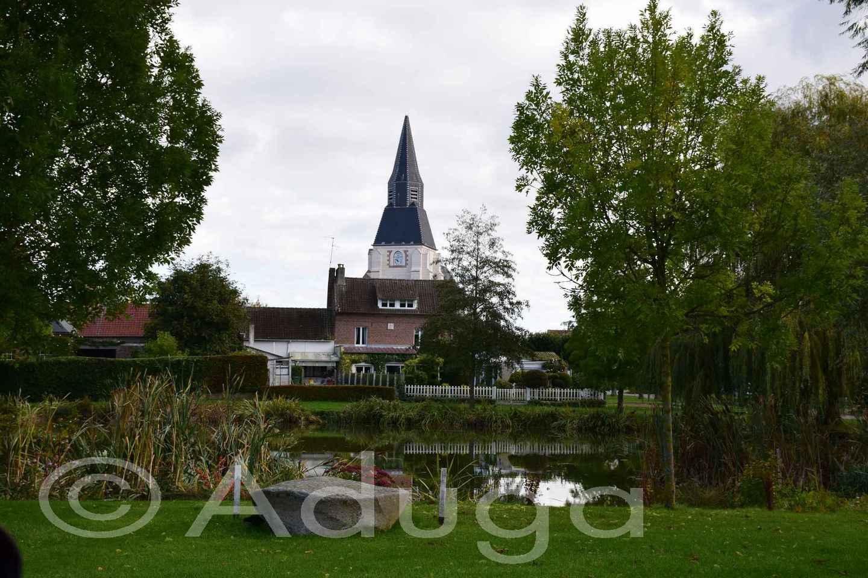 Photo de la semaine. Village centre, Pissy, CA Amiens Métropole.